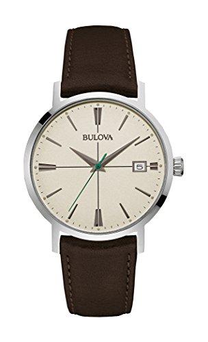bulova-herren-armbanduhr-aerojet-analog-quarz-leder-96b242