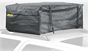 Highland 10391 Kar Pak Rainproof Soft-Sided Car Top Carrier - 15 Cubic Feet