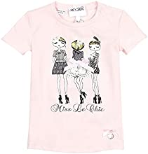 Le Chic Baby Girl39s T-shirt with Print Sizes 12M-24M
