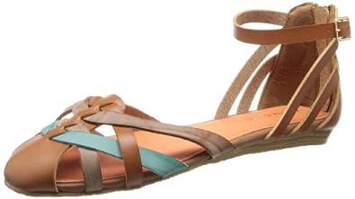 Amazon.com: Rampage Women's Sadine Flat Cognac 11 M US: Shoes