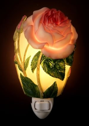 English Rose Night Light