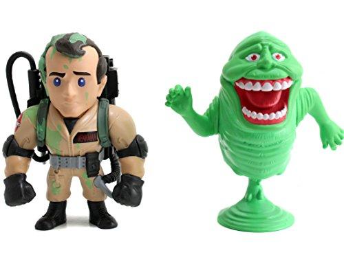 "Jada Toys Ghostbusters Twin Pack -Venkman & Slimer Toy Figure, 4"""
