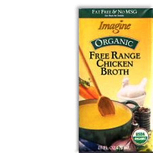 Imagine Organic Free Range Chicken Broth, 16-Ounce Boxes (Pack of 12)