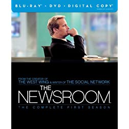The Newsroom: The Complete First Season (Blu-ray/DVD Combo + Digital Copy)