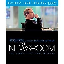The Newsroom: The Complete First Season (Blu-ray/DVD Combo + Digital Copy)