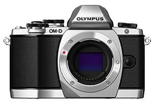 """Olympus E-M10 Appareil photo hybride 16,1 Mpix Écran 3"""" Zoom 3x  Boîtier nu Argent"""