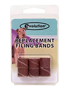 Peticure Filing Bands, Pack of 6