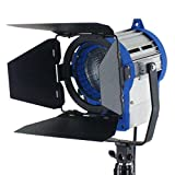 KINOSUN 300W Fresnel Tungsten Light Spotlight Junior 300 Plus +Bulb Studio Video Photo