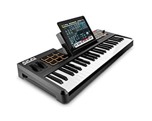 Akai Professional SynthStation 49 49-Note Keyboard Controller with Drum Pads and Doc