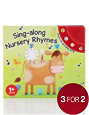 Sing-Along Nursery Rhymes Sound Book