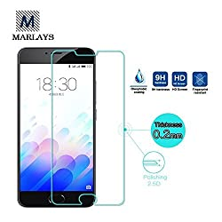 FING (TM) 9H Hardness Toughened Tempered Glass Screen Protector For Meizu M3 Note