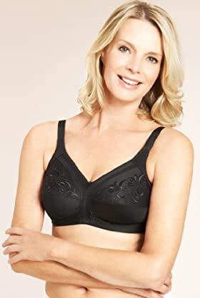 Post Surgery Total Support Non-wired Bra