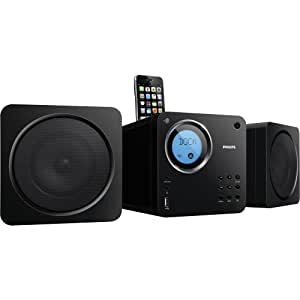 Philips DCM109/37 Cube Micro Music System Dock for iPod/iPhone