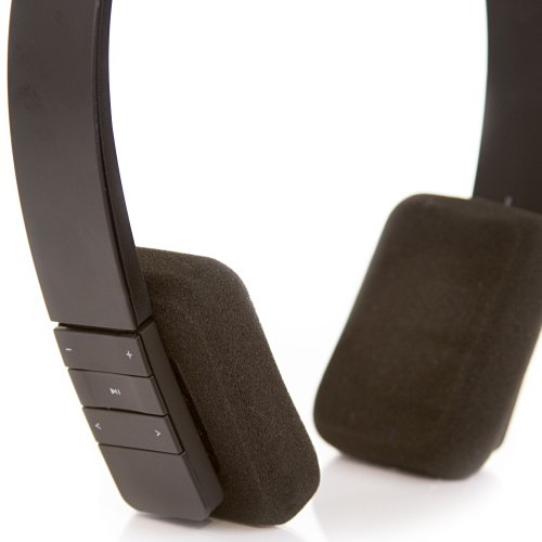 Swage By Rokit Boost - Bluetooth Headphones - Built In Microphone - High Quality Sound - Perfect Fit Sleek Design - Black Color