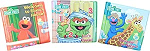 Sesame Street® Elmo's World Bath Time Bubble Books Featuring Elmo (Set of 3)