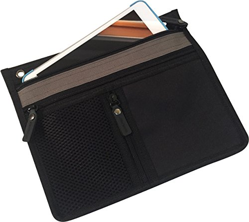 """3 Ring Binder Pencil & Accessory Pouch... Expandable 10"""" X"""