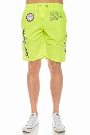 Geographical Norway - Short de Bain Geographical Norway Quarth Vert-Taille - L