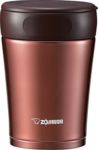 Zojirushi Stainless Steel Food Jar, Nut Brown (Zojirushi Thermos Bento compare prices)