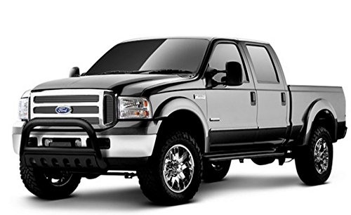 MATTE BLACK HD BULL BRUSH PUSH BUMPER GRILL GRILLE GUARD 04-14 F150/07 NAVIGATOR (2009 F150 Grille Guard compare prices)