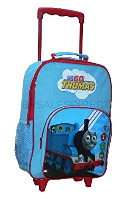 Trade Mark Collections Thomas the Tank Engine CGI Wheeled Bag with Front Pocket by Trade Mark Collections