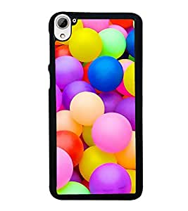 Colourful Balls 2D Hard Polycarbonate Designer Back Case Cover for HTC Desire 826 Dual Sim
