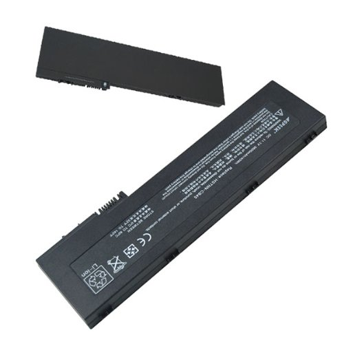 AGPtek High Capacity Laptop Battery for HP Compaq 2710 Tablet PC 2710p Tablet Ultra-slim Elitebook 2730p Series Replacement for 436426-311 NBP6B17 AH547AA 454668-001 HSTNN-XB4X