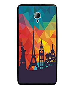 Techno Gadgets Back Cover for HTC Desire 620