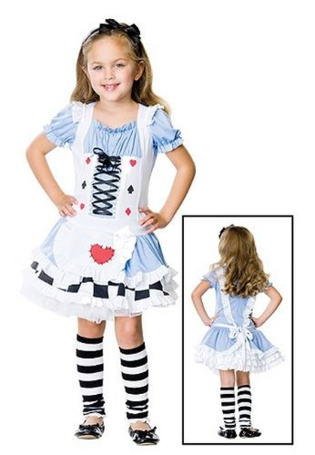 Alice in Wonderland Costume - Child Costume - Medium