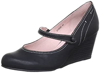 Esprit O10335, Sandales femme - Noir (Black 001), 37 EU