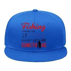Cool male female snapback adjustable hip hop for Fishing snapback hats