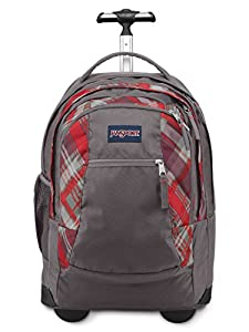 JanSport Driver 8 Backpack (Coral Dusk Sidways plaid)