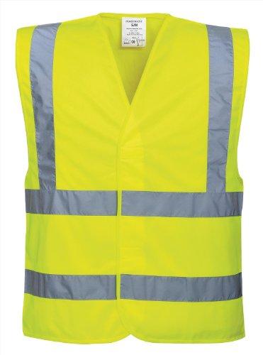 Portwest Hi-Vis Two Band & Brace vest (C470) - Yellow - SM
