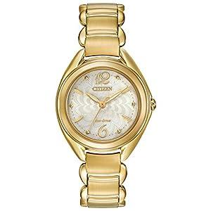 Citizen Women's FE2072-89A Analog Display Japanese Quartz Gold Watch