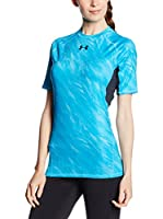 Under Armour Camiseta Técnica HeatGear Armour Printed (Azul)