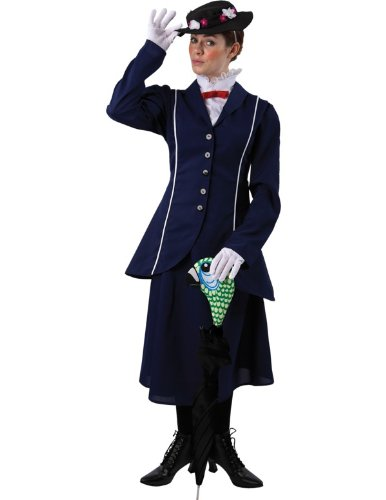Adult Womens Mary Poppins Halloween Costume