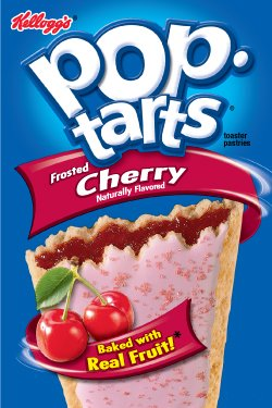 Kellogg's Pop Tarts Frosted Cherry 12 Ct - 12 Pack (144 total) (038000318207)