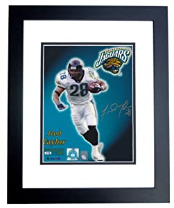 Fred Taylor Autographed Hand Signed Jacksonville Jaguars Limited 8x10 Photo - BLACK... by Real Deal Memorabilia