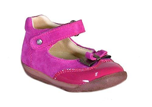 Falcotto - Falcotto Ballerine Bambina Fuxia Pelle Strappi 1129 - Fuxia, 19