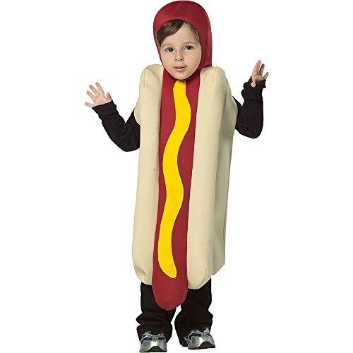 Hot Dog Toddler Costume - 3-4T
