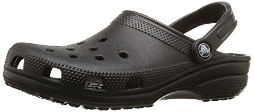 Crocs-Unisex-Erwachsene-Classic-Clogs-Schwarz-Black-001-46-47-EU-12M