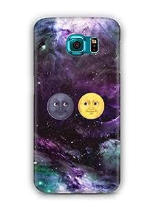 Cover Affair Bright / Black Sun Printed Back Cover Case for Samsung Galaxy S7 Edge