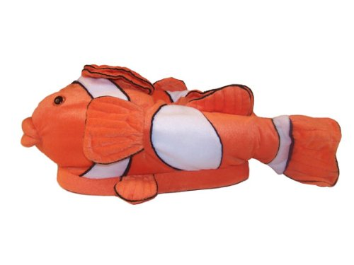 Buy low price happy feet clown fish animal slippers for Clown fish price