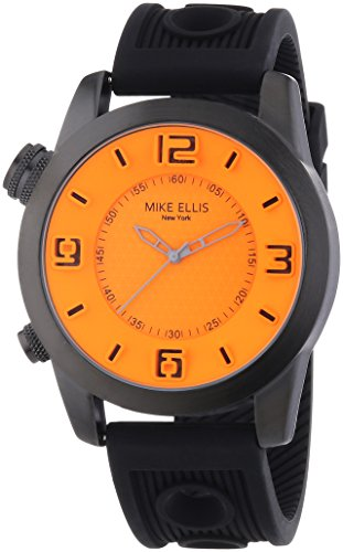 Mike Ellis New York Herren-Armbanduhr XL an:e Analog Quarz Leder SL4316/4