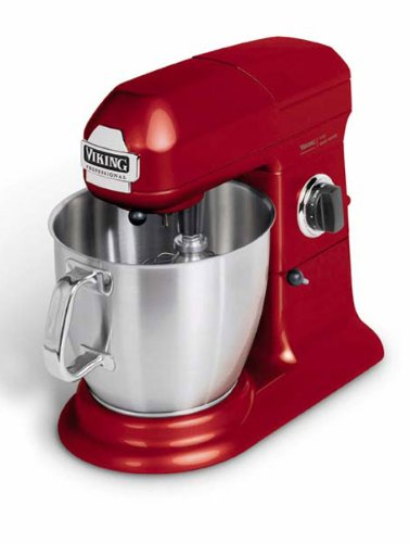 Electric Mixers On Sale ~ Viking professional quart stand mixer bright red