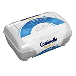 Cottonelle Fresh Flushable Moist Wipes Tub 42- box color may vary