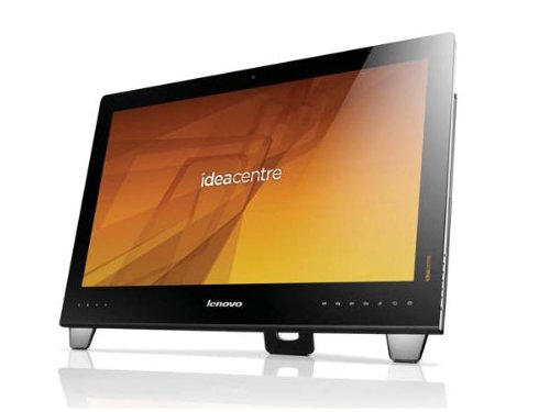 Lenovo IdeaCentre B540 23-Inch All-in-One Touchscreen Desktop (Black/Brushed Aluminum)