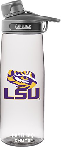 NCAA LSU Tigers Chute Collegiate, 0.75 L, Clear (Lsu Water Bottle compare prices)