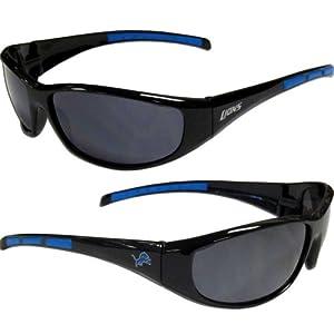 Detroit Lions Wrap Sunglasses Detroit Lions Wrap Sunglasses by NFL Licensed Merchandise