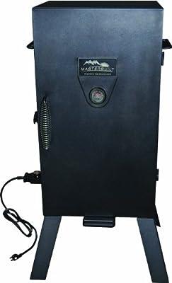 Masterbuilt 20070210 30-Inch Black Electric Analog Smoker from Masterbuilt