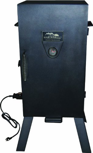Masterbuilt 20070210 30-Inch Black Electric Analog Smoker (Home Electric Smoker compare prices)